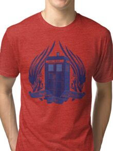 Doctor Who - Angels have the Phone Box Tri-blend T-Shirt