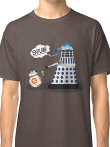Star Wars / Doctor Who - Explain!! Classic T-Shirt