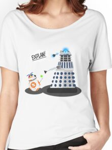 Star Wars / Doctor Who - Explain!! Women's Relaxed Fit T-Shirt
