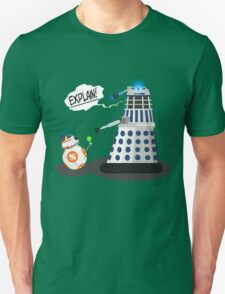 Star Wars / Doctor Who - Explain!! T-Shirt