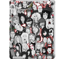 Rock Star collage ar iPad Case/Skin