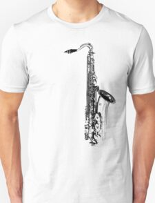 saxophone abstract T-Shirt