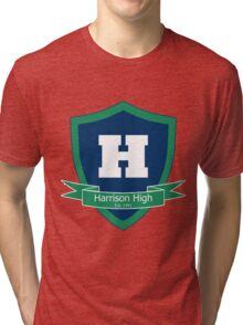 Harrison High School Tri-blend T-Shirt