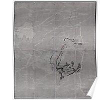 Civil War Maps 1282 Petersburg Poster