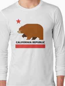 California Republic - Minimalistic Long Sleeve T-Shirt