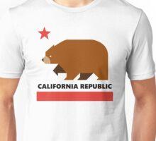 California Republic - Minimalistic Unisex T-Shirt