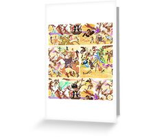 Epic Battle Two Greeting Card