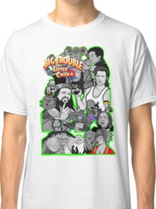 Big Trouble in Little China character collage  Classic T-Shirt