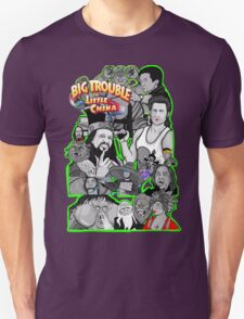 Big Trouble in Little China character collage  Unisex T-Shirt