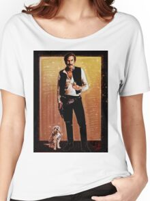 Ron Burgundy Han Solo Women's Relaxed Fit T-Shirt