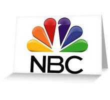 NBC Logo Greeting Card