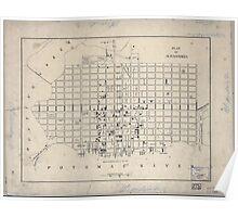 Civil War Maps 1297 Plan of Alexandria Poster