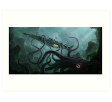 The Nautilus Art Print