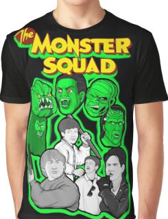 monster squad character collage Graphic T-Shirt