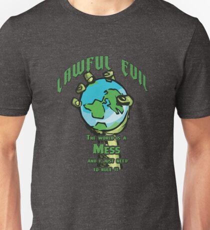 D&D TEE - LAWFUL EVIL Unisex T-Shirt