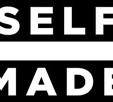 Self Made - Black by tee4daily