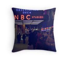 NBC Studios Throw Pillow