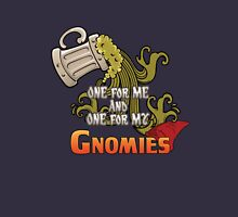 D&D TEE - ONE FOR MY GNOMIES Womens Fitted T-Shirt