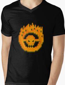 War Boys Logo 8-bit Mens V-Neck T-Shirt