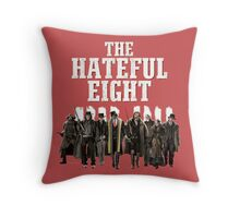 the hateful eight characters Throw Pillow