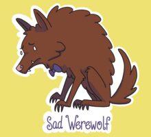 Sad Werewolf Kids Tee