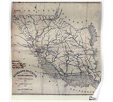 Civil War Maps 1523 Richland District South Carolina Poster