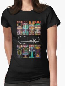 CLutch Earth Rocker sword Womens Fitted T-Shirt