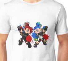 Inking Boy vs Octoling Boy Splat Unisex T-Shirt