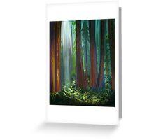 Landscape Study 10 Greeting Card