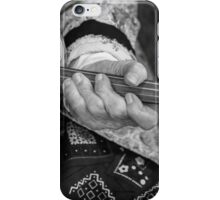 Fiddle Player iPhone Case/Skin