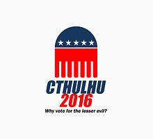 Cthulhu 2016 - why vote for the LESSER evil? Lovecraft Classic T-Shirt