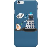 Star Wars / Doctor Who - Explain!! iPhone Case/Skin