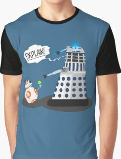 Star Wars / Doctor Who - Explain!! Graphic T-Shirt