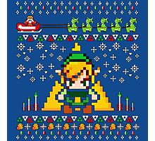 Zelda 8Bit Pixel Photographic Print