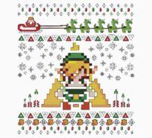 Zelda 8Bit Pixel Kids Tee