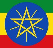 Ethiopian Flag Sticker