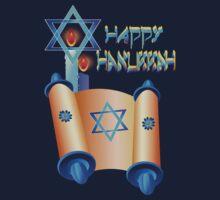 Happy Hanukkah-Torah by Lotacats