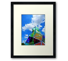 Sculpture and Sky Framed Print