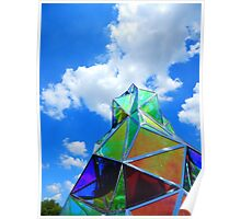 Sculpture and Sky Poster