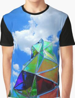 Sculpture and Sky Graphic T-Shirt