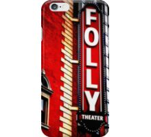 Folly Theater iPhone Case/Skin