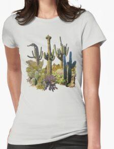 Saguaros of ARIZONA Womens Fitted T-Shirt
