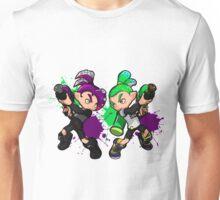 Inking Boy vs Octoling Boy V2 Splat Unisex T-Shirt