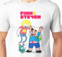 Adventure TIme Finn and Steven Universe Unisex T-Shirt