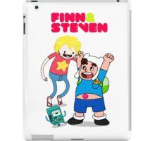 Adventure TIme Finn and Steven Universe iPad Case/Skin