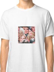 Golden Girls Repeating Print Classic T-Shirt