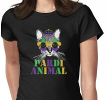 Pardi Animal Womens Fitted T-Shirt