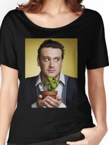 marshall eriksen holding a plant Women's Relaxed Fit T-Shirt