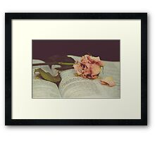Heal My Broken Heart Framed Print