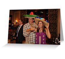 marshall, lily and barney (best night ever)  Greeting Card